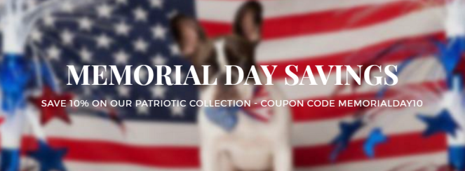 Memorial Day Saving